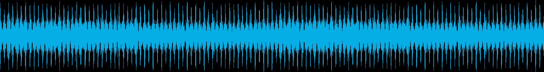8bitイベントシーンの再生済みの波形