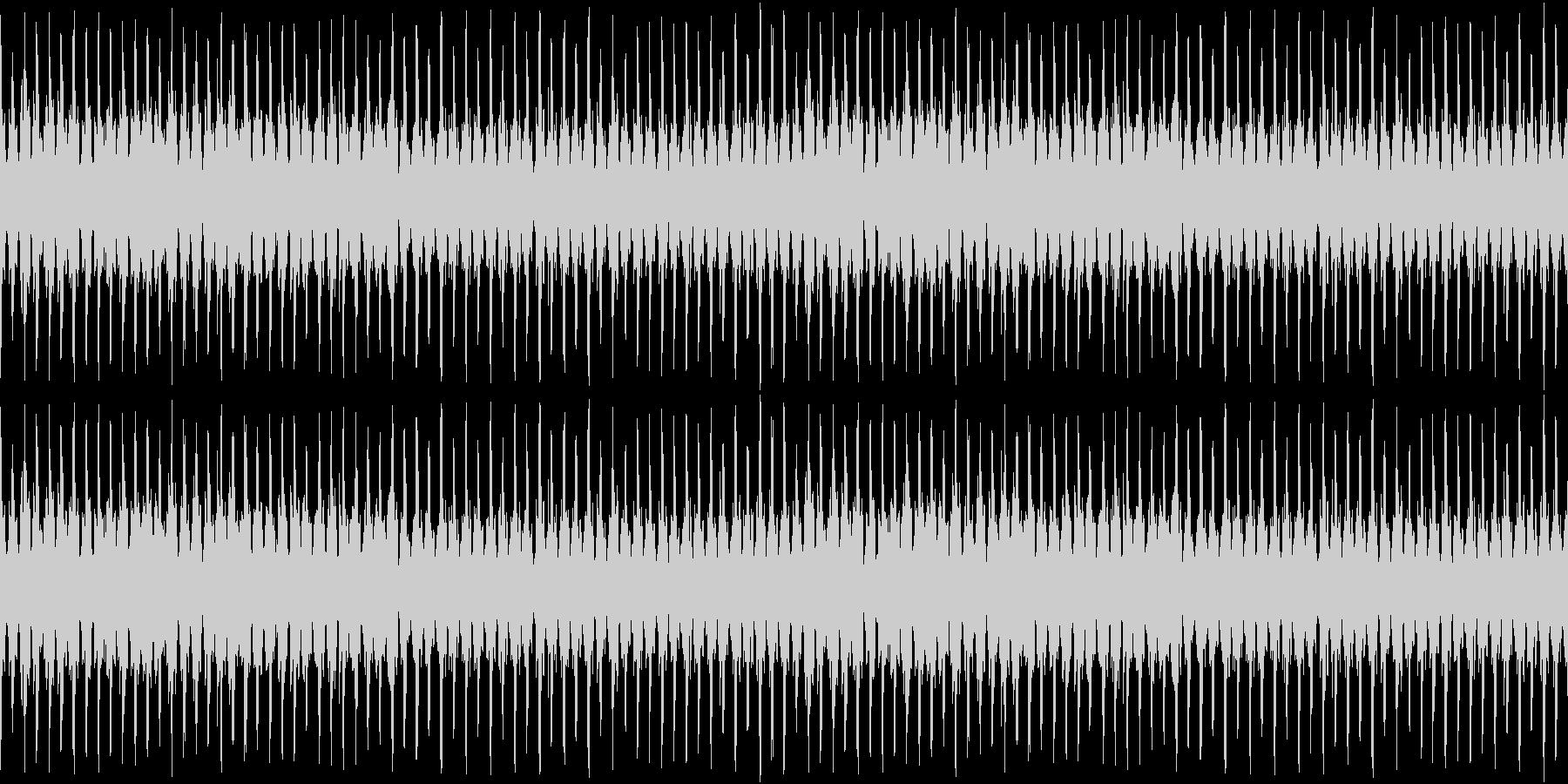 8bitイベントシーンの未再生の波形