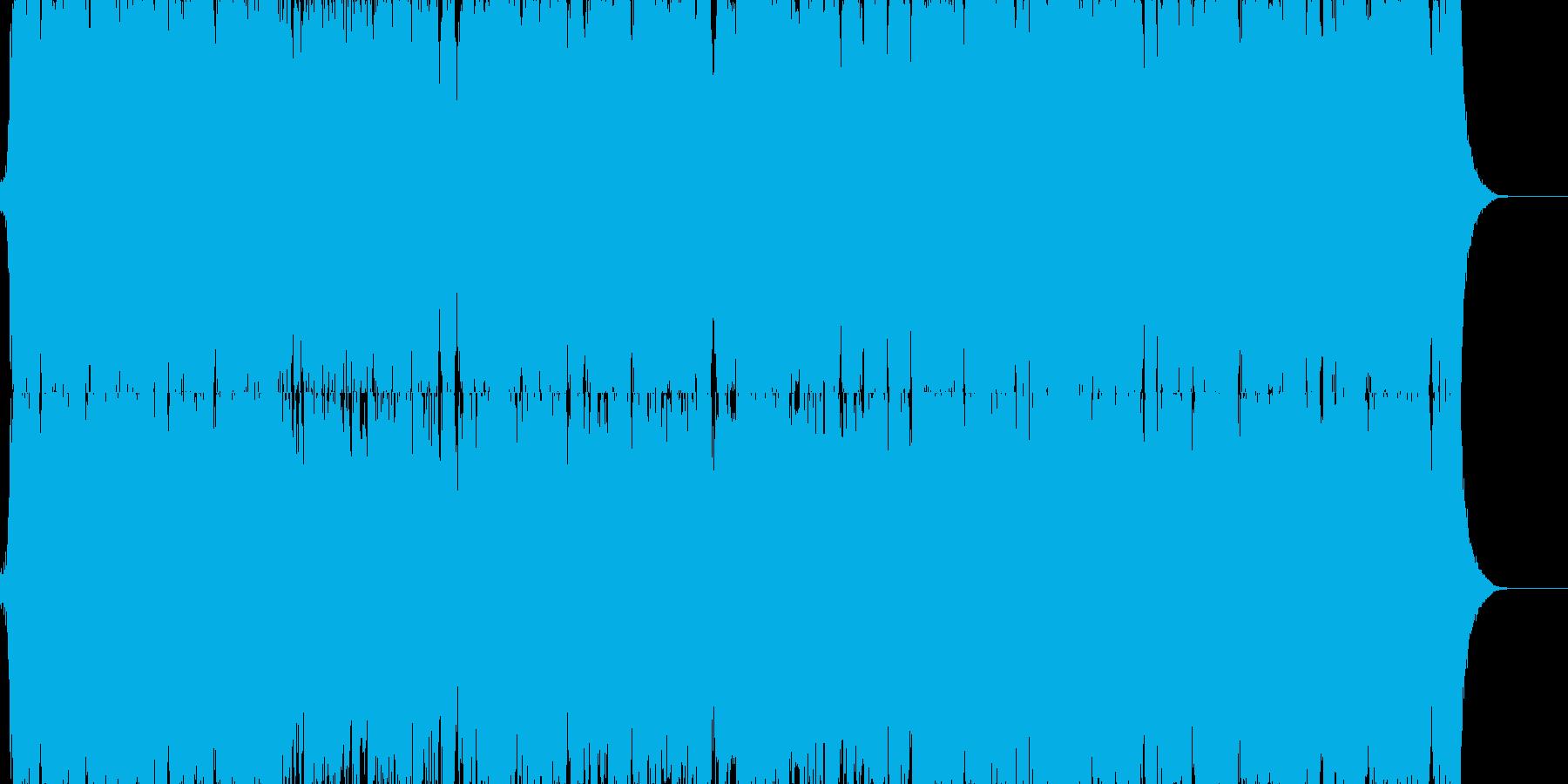 壮大な映画系音楽 映像系の再生済みの波形