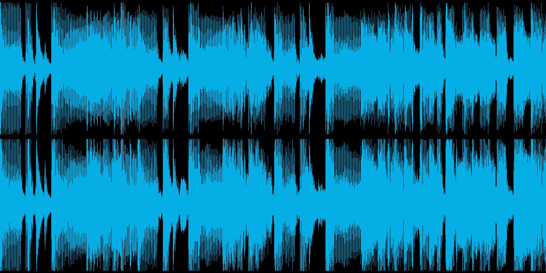 ループ。バンドサウンド。70年代風。の再生済みの波形