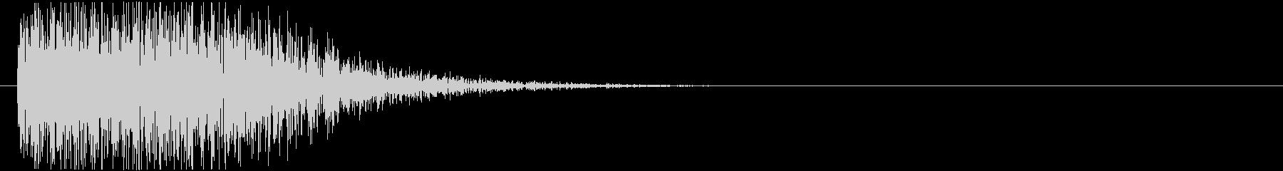 ドーン(大砲、戦車、爆発)の未再生の波形