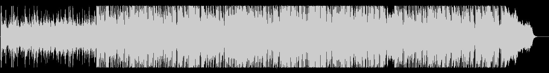 ゴージャスで優美なBGMの未再生の波形