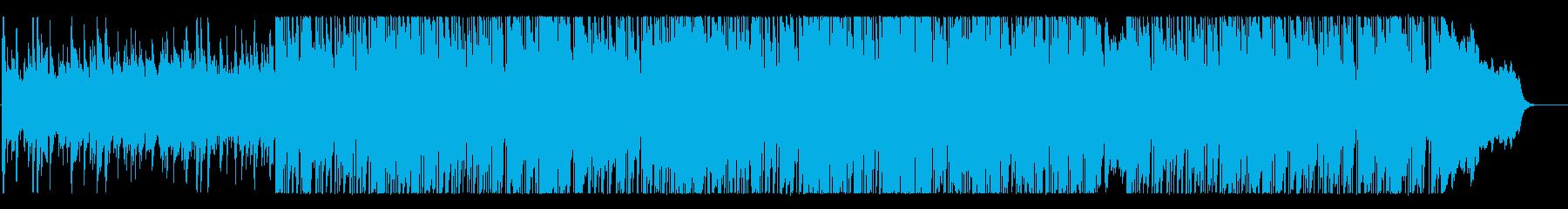 ゴージャスで優美なBGMの再生済みの波形