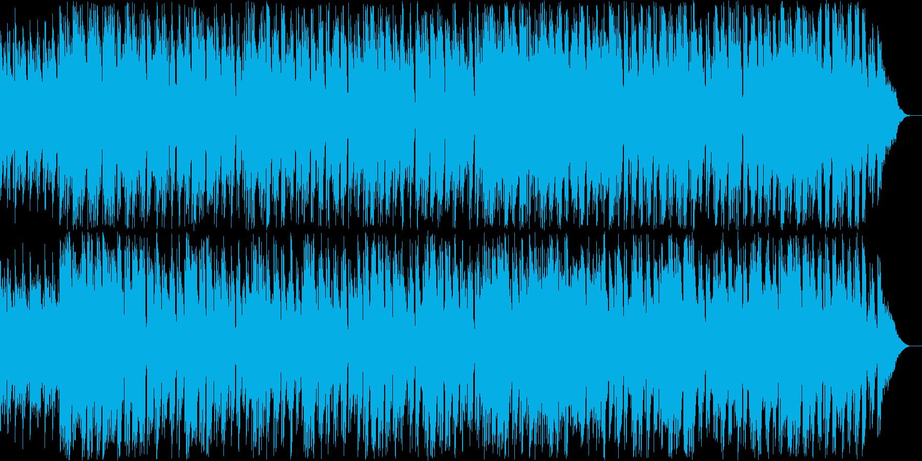 ちょっとおセンチなオリジナルボサノバの再生済みの波形