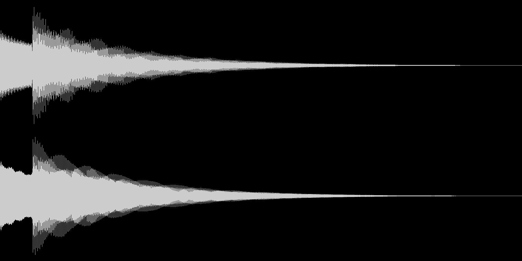 正解/ピンポーン/クイズの未再生の波形