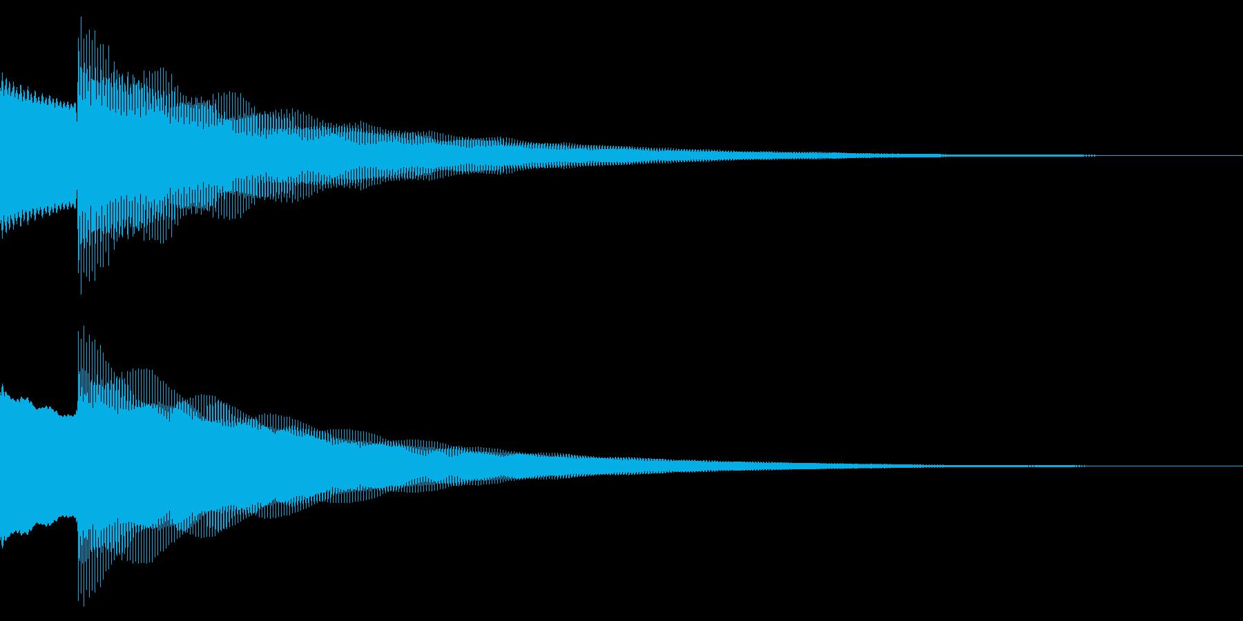 正解/ピンポーン/クイズの再生済みの波形