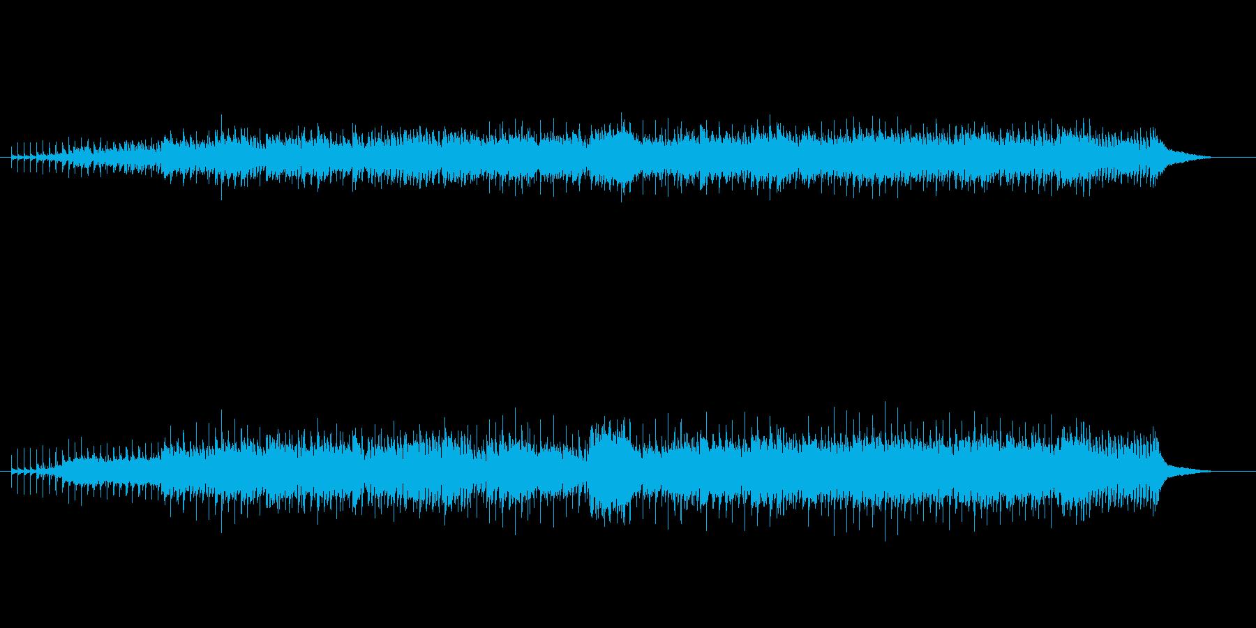 軽快なエレクトリック・ニューミュージックの再生済みの波形