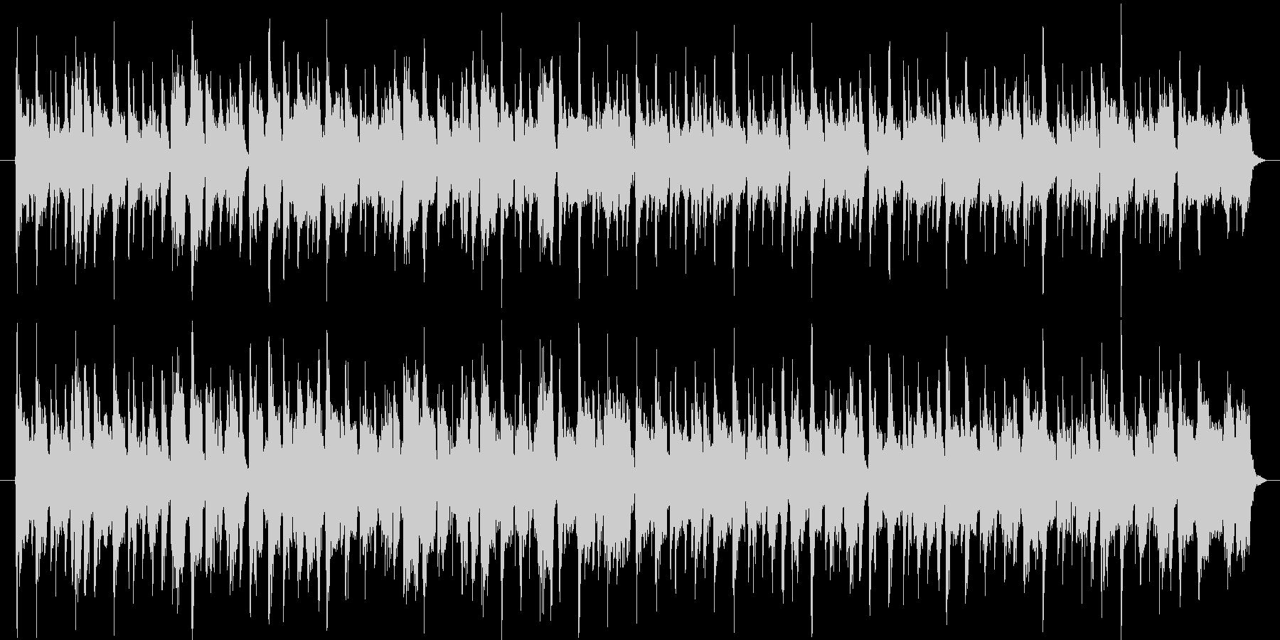 アップテンポ、おしゃれ、ラウンジハウスの未再生の波形