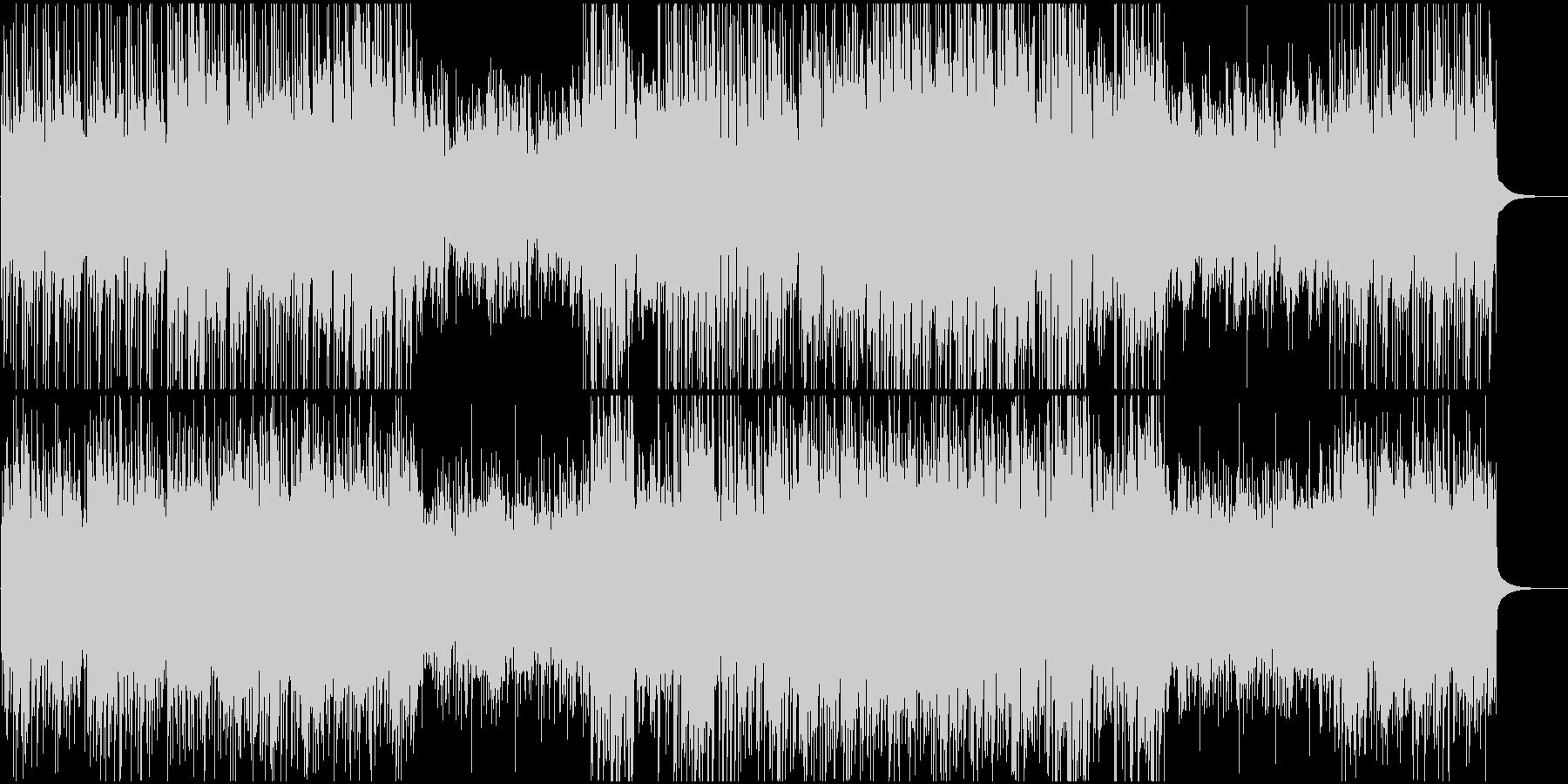 ギターとピアノで爽やかジャズポップの未再生の波形