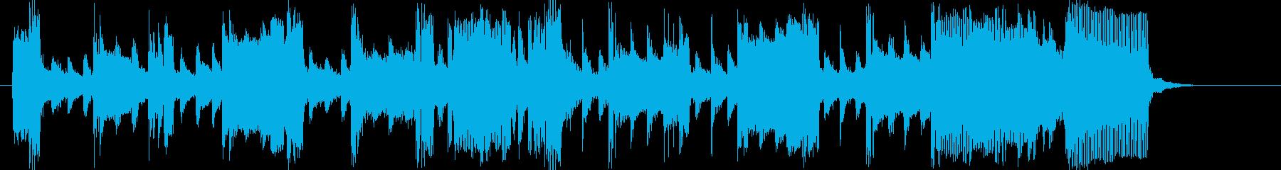 緩やかでなだらかなトランペットジングルの再生済みの波形