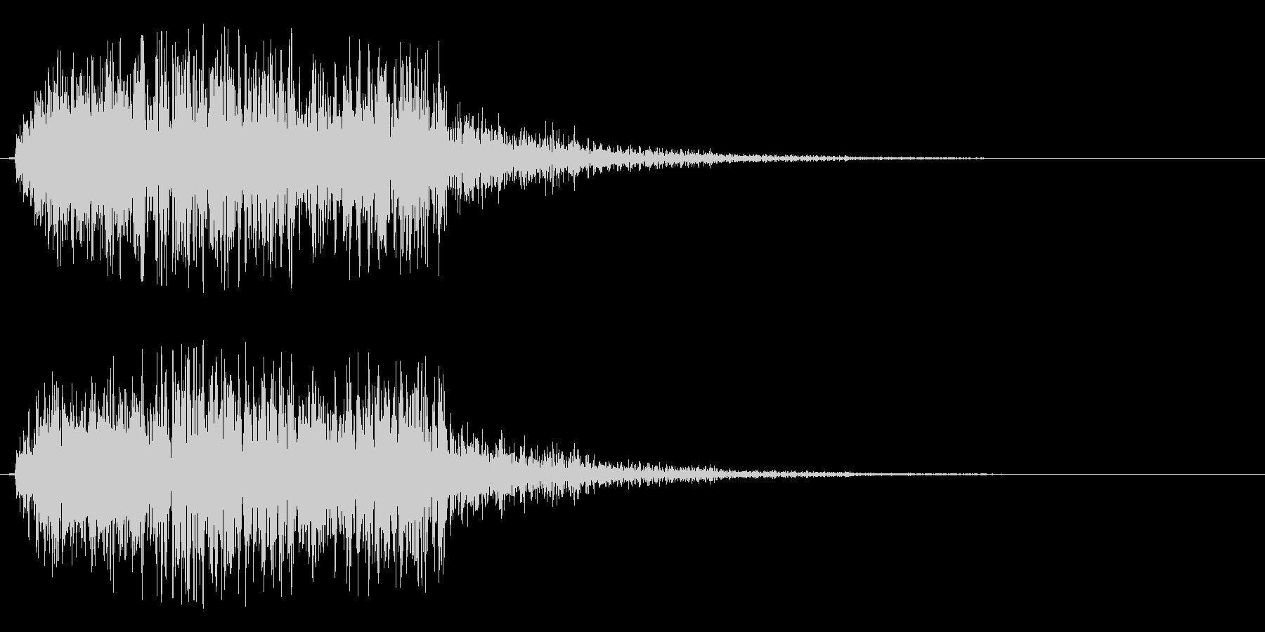 シュルルッ(回転系)の未再生の波形