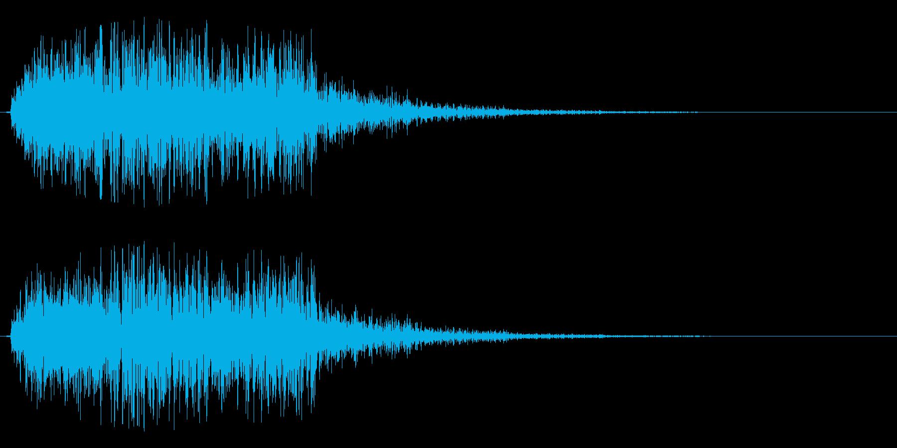 シュルルッ(回転系)の再生済みの波形