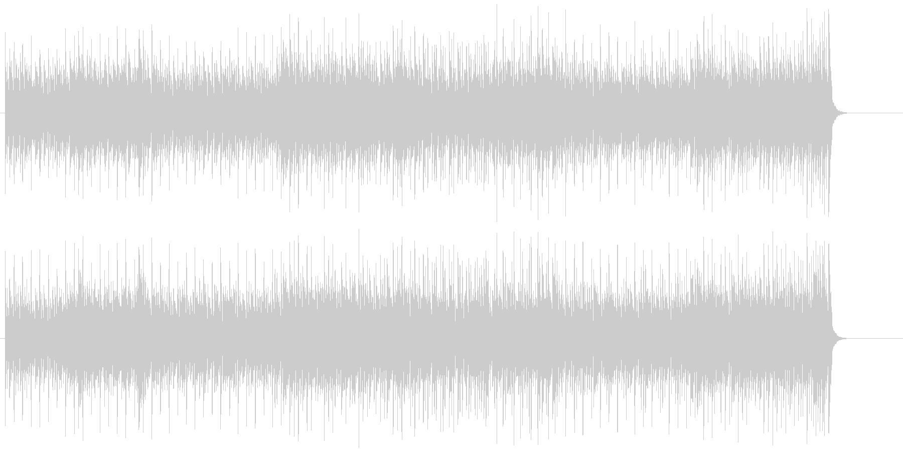 アダルトなスリル感あふれるエレクトリックの未再生の波形
