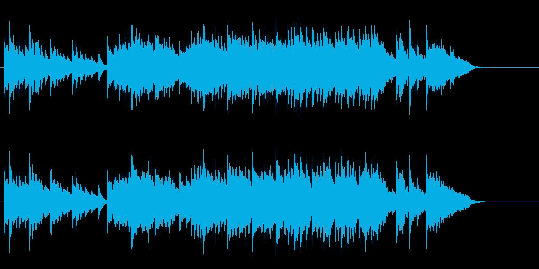新たな門出を祝福する感動のピアノバラードの再生済みの波形