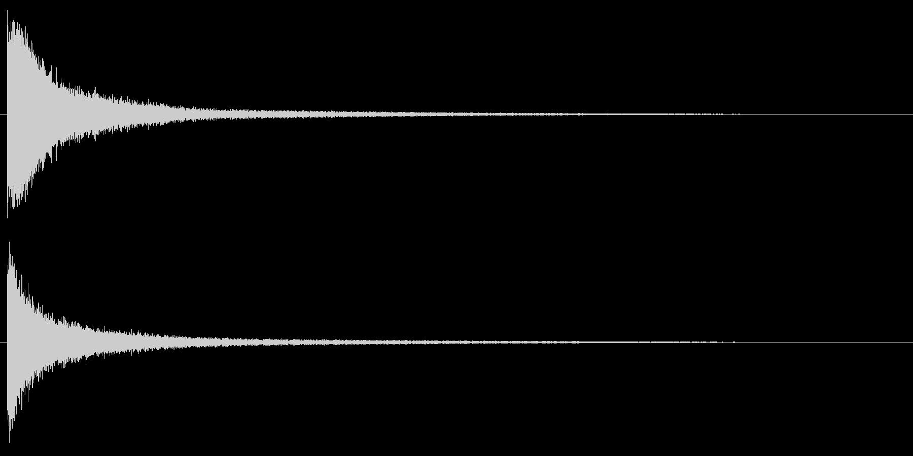試合開始のゴング ボクシング カーンの未再生の波形