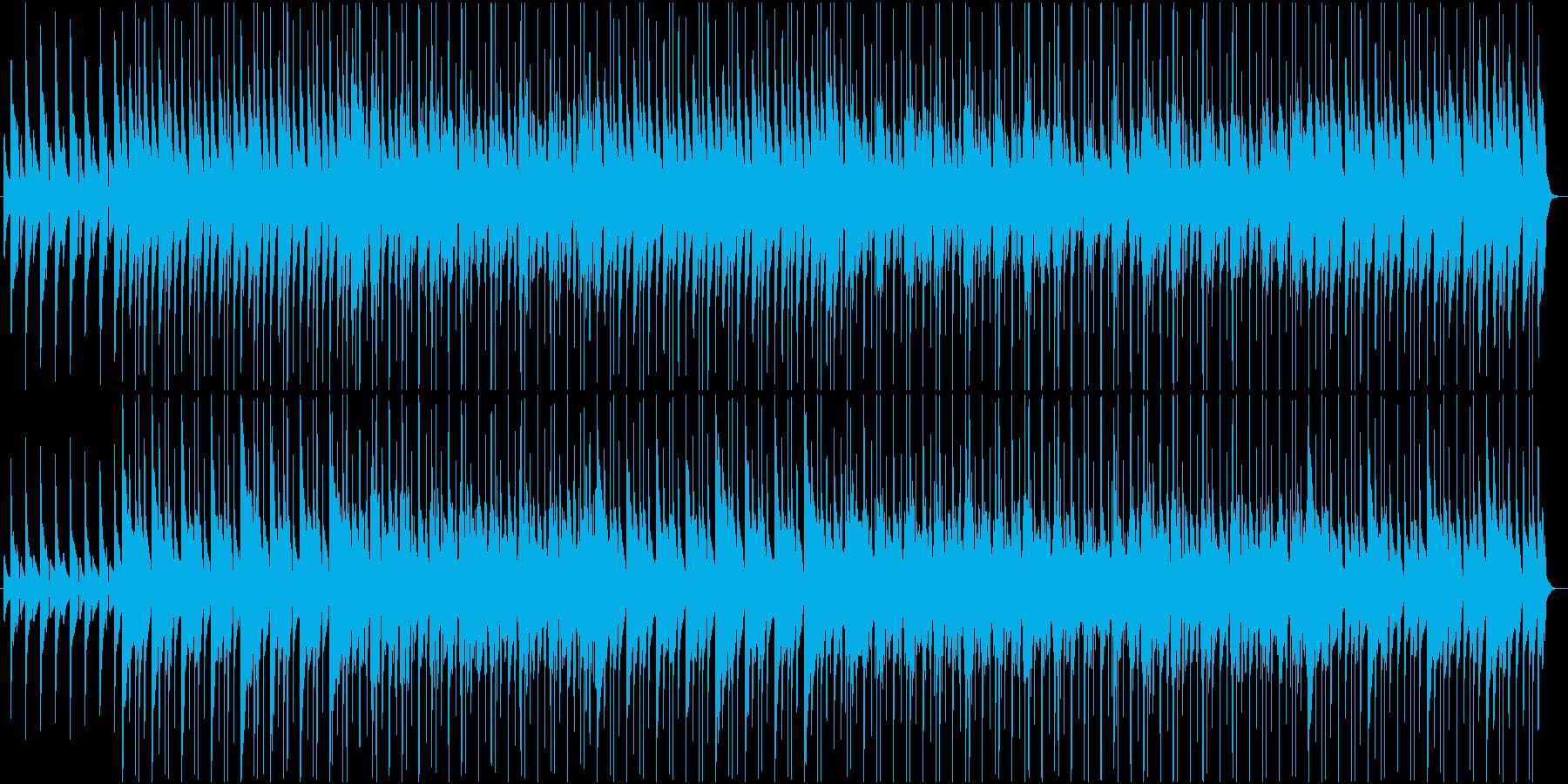 ドキュメンタリー 堅実さを伝えるBGMの再生済みの波形