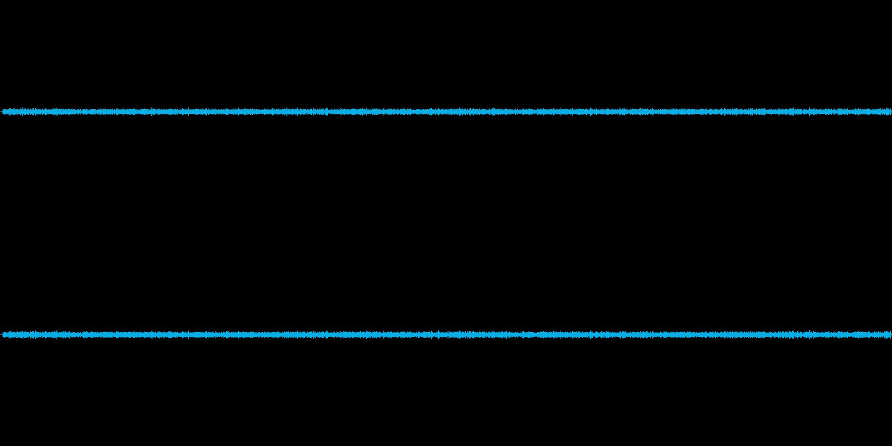 電子レンジの稼働音ですの再生済みの波形