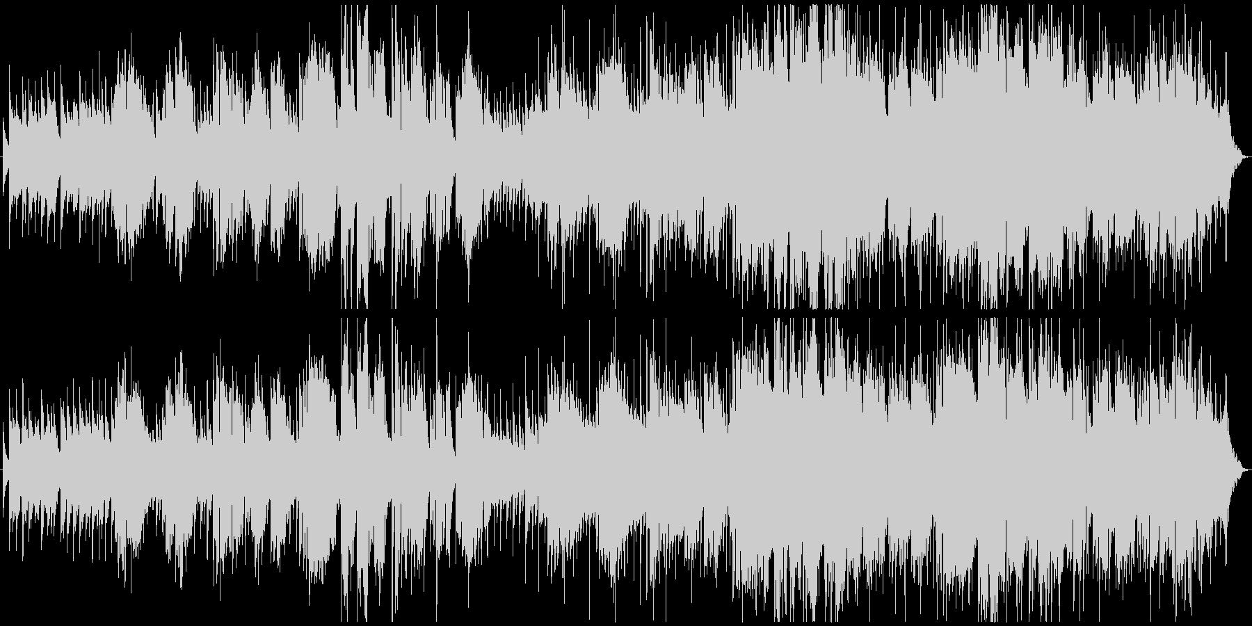 ハーモニカが印象的なブルージーなバラードの未再生の波形