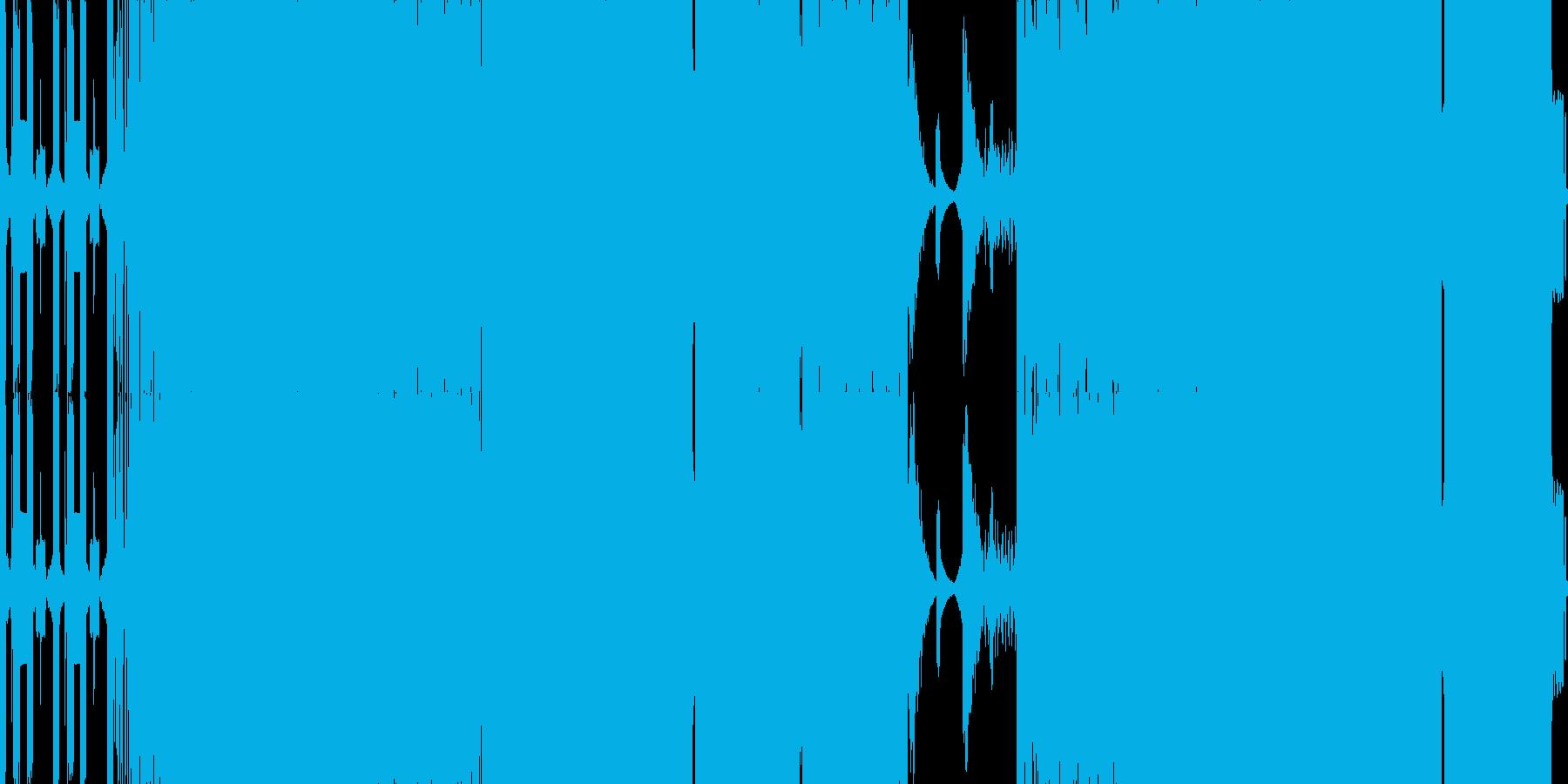 ダークな雰囲気のドラムンベースです。の再生済みの波形