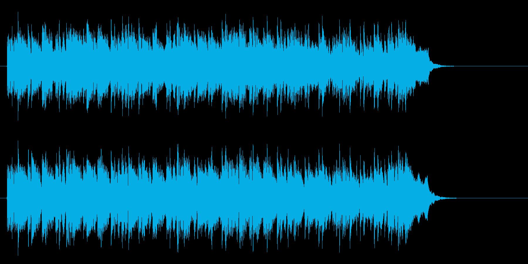 爽やかで優しいポップス(サビ~エンド)の再生済みの波形