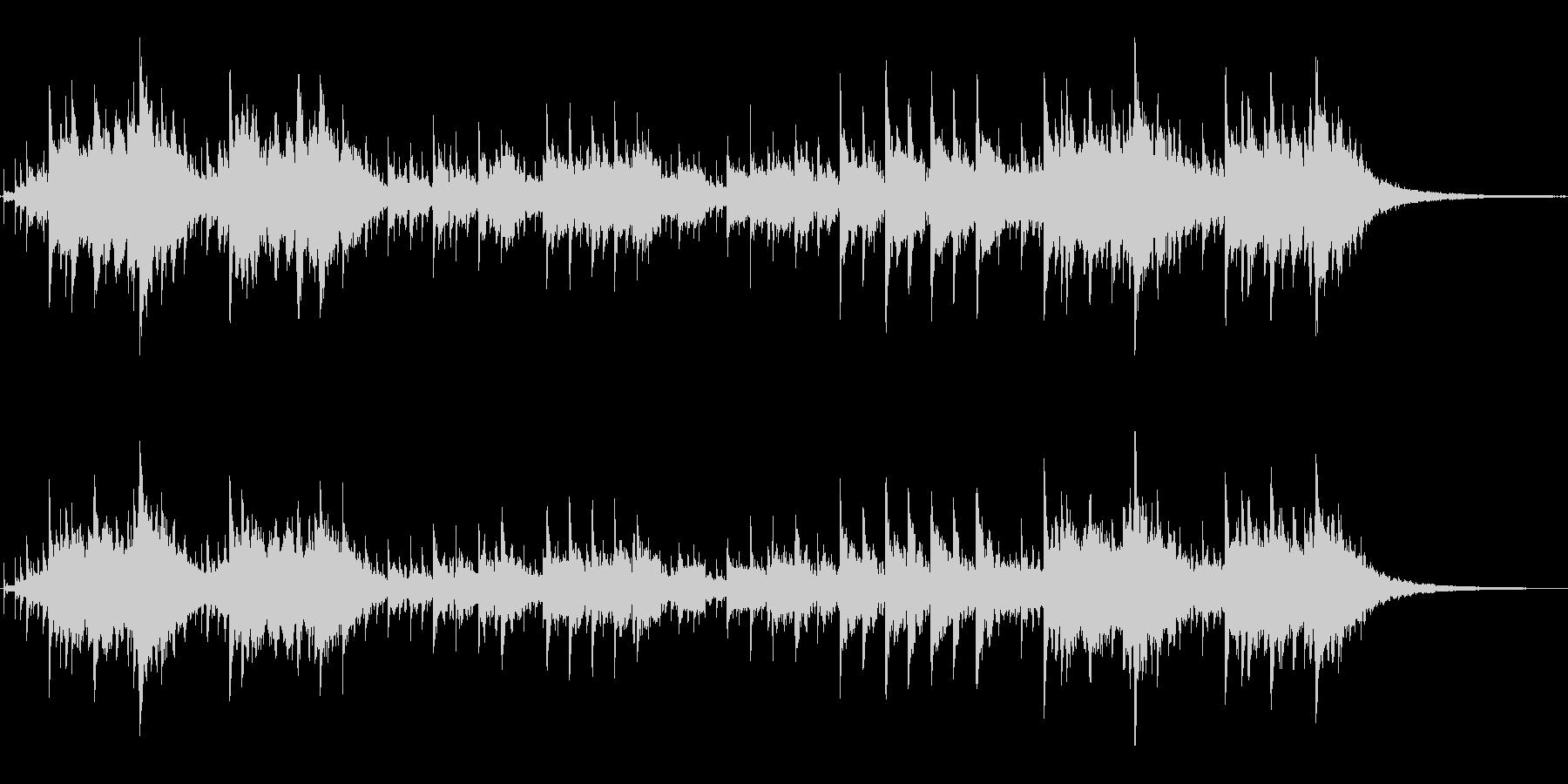 シンセの音色がかわいいジングルの未再生の波形