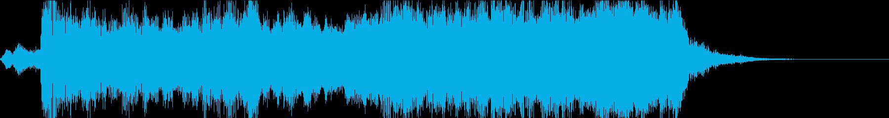 雄壮なオーケストラの再生済みの波形