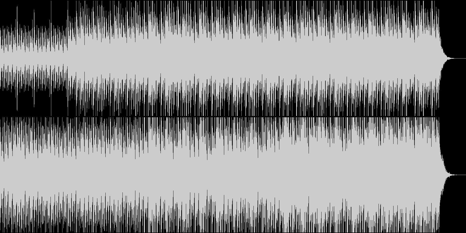 天の川を連想させる和の1曲の未再生の波形
