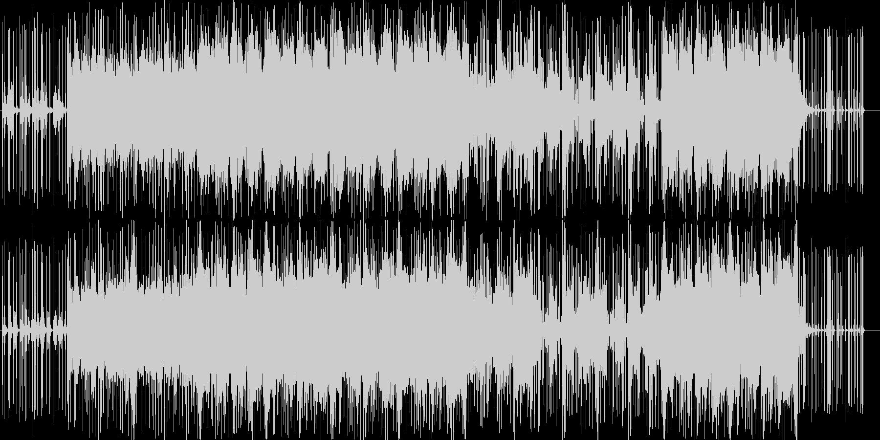 ポップで優しいフォークトロニカの未再生の波形
