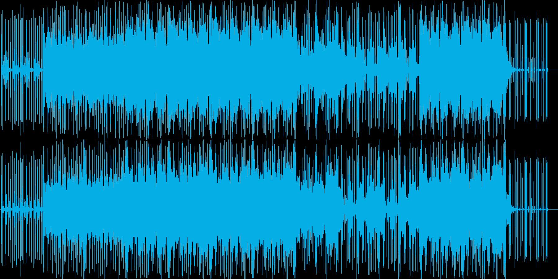 ポップで優しいフォークトロニカの再生済みの波形