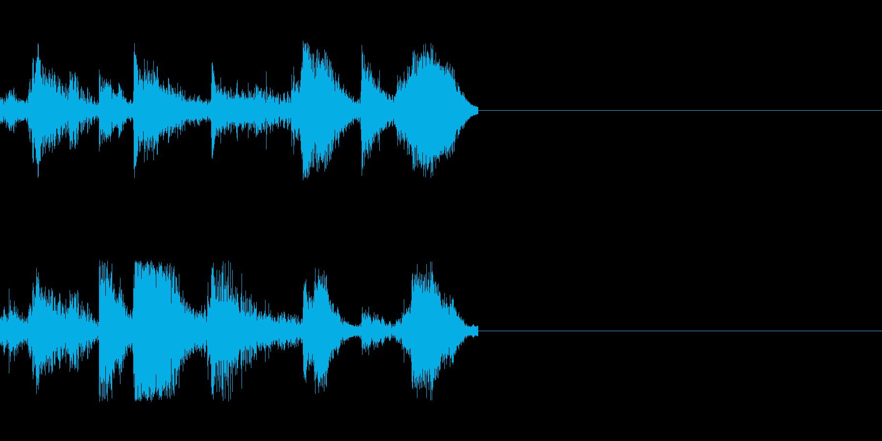 刀の攻防 2の再生済みの波形