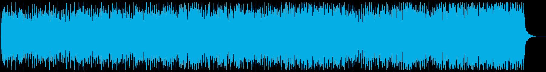 大人の雰囲気あるなめらかなメロディーの再生済みの波形