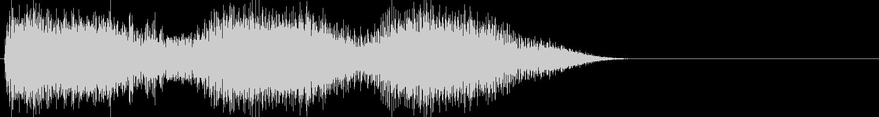 ワープの音、映画とゲームの効果音の未再生の波形