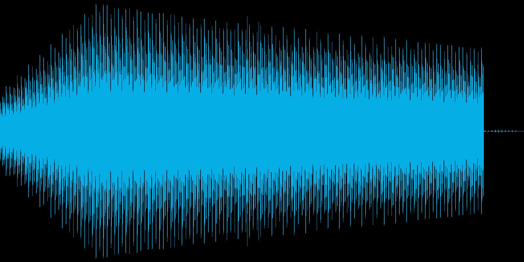警告音_ギューンの再生済みの波形