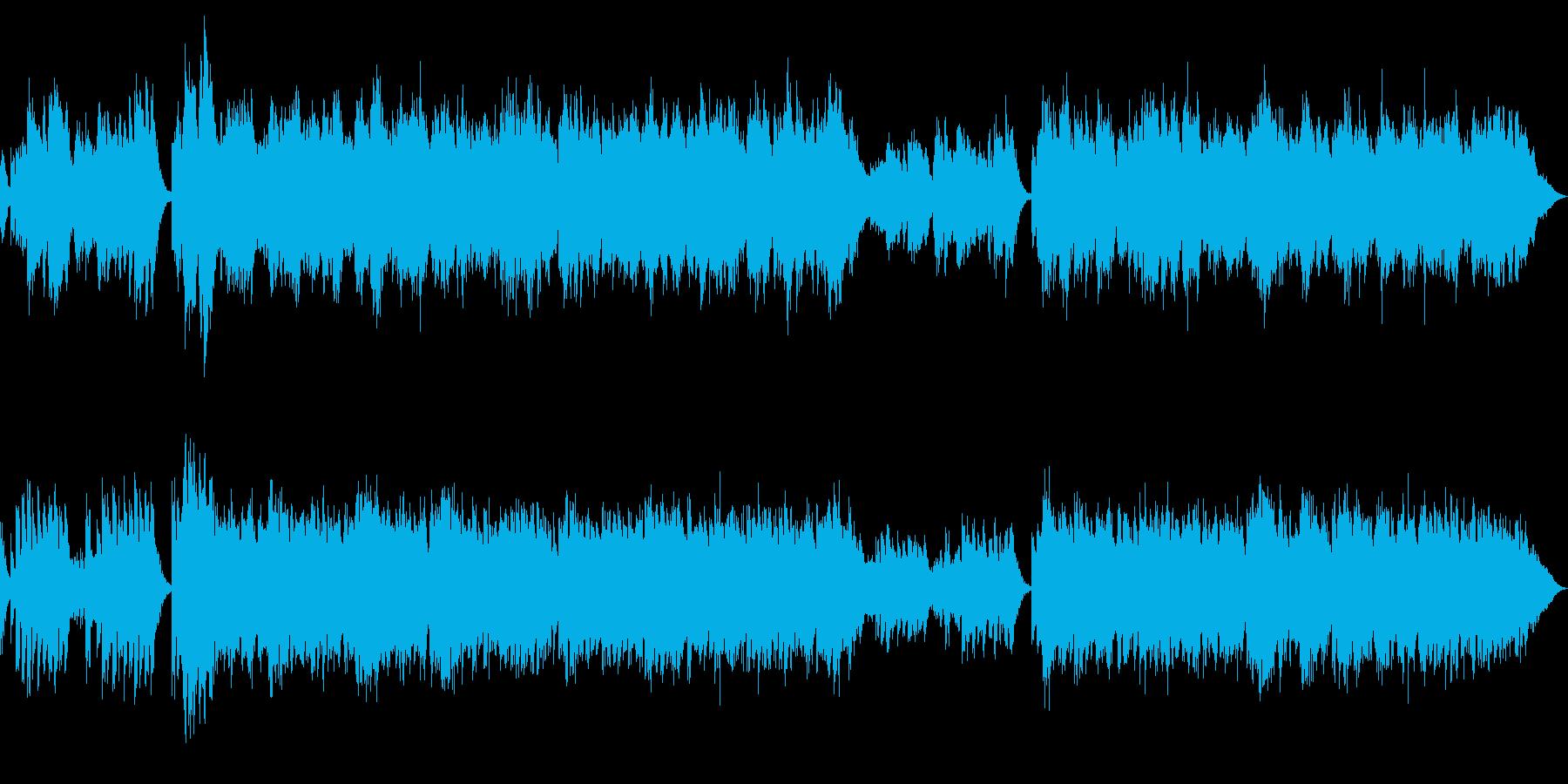 和、中華、尺八と琴2の再生済みの波形