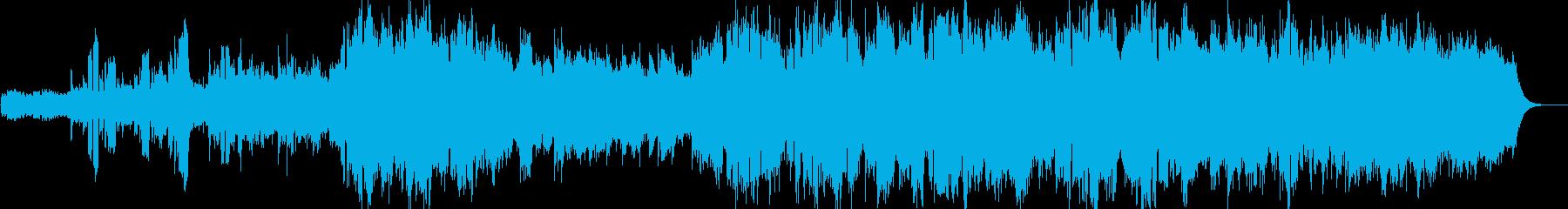 スペーシーな混声バラードの再生済みの波形