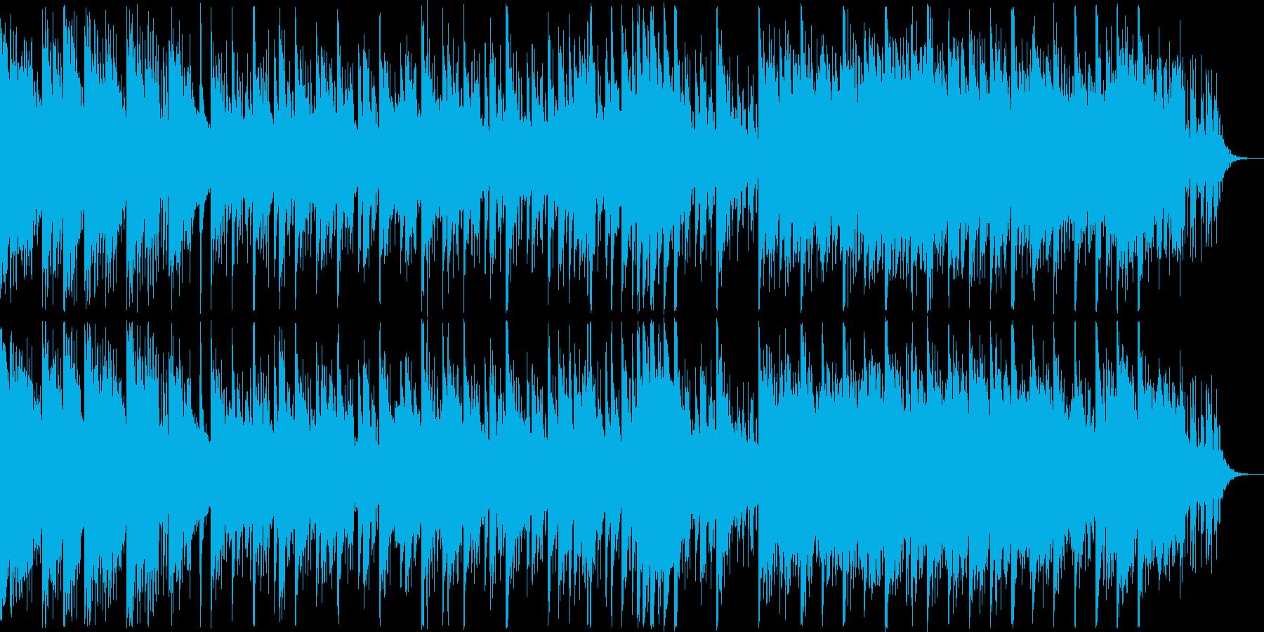 透明感あふれるエレクトロニカポップの再生済みの波形