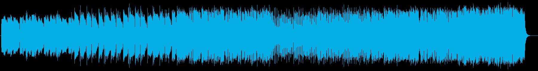 雄大で神秘的なミュージックの再生済みの波形