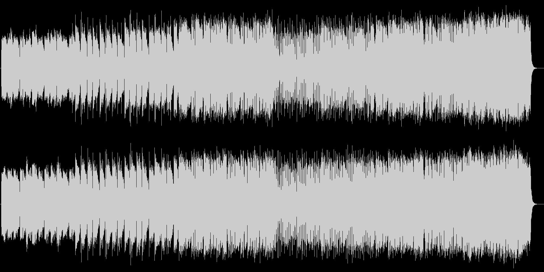 雄大で神秘的なミュージックの未再生の波形
