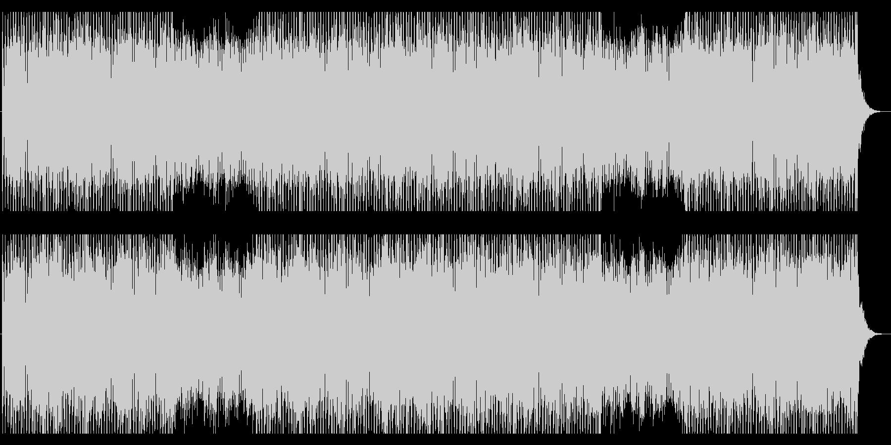 バックグラウンドBGM 01の未再生の波形