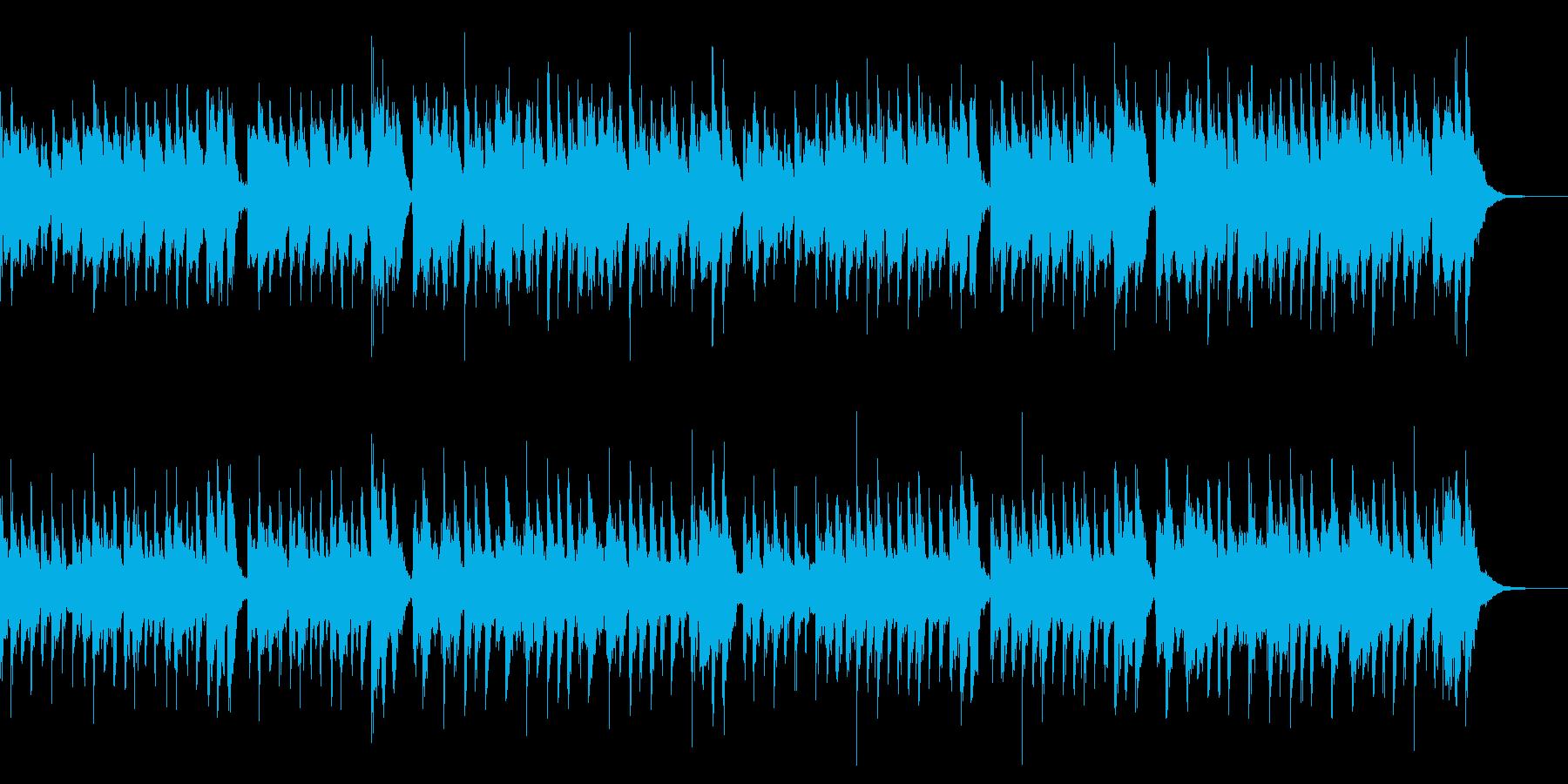 ほのぼのとした日常で使えるBGMの再生済みの波形