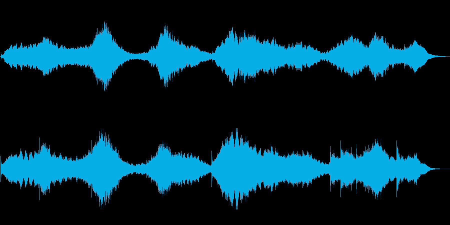 エスノムード満載アンビエントなベル音楽の再生済みの波形
