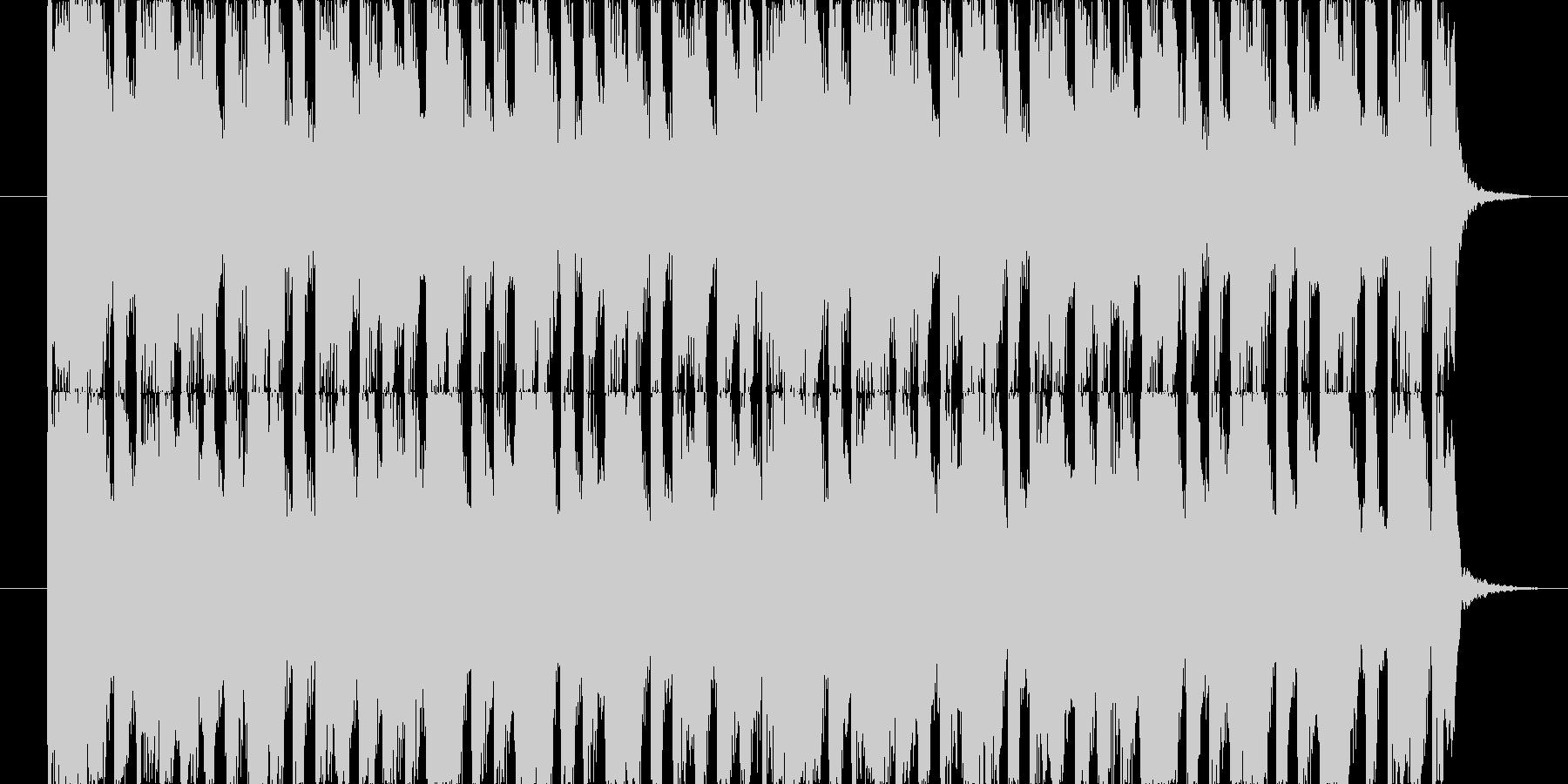 せわしない雰囲気の15秒ジングルの未再生の波形