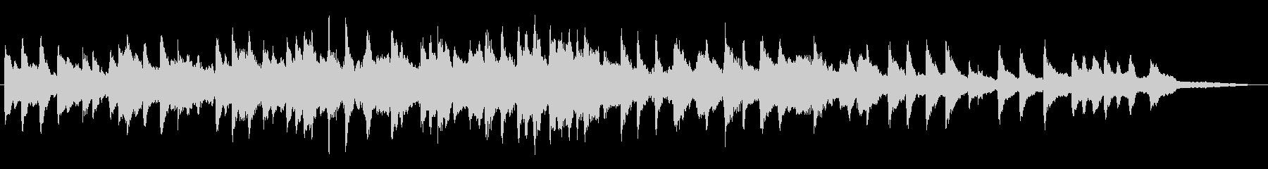 「ふるさと」-しっとり優しげなピアノ演奏の未再生の波形