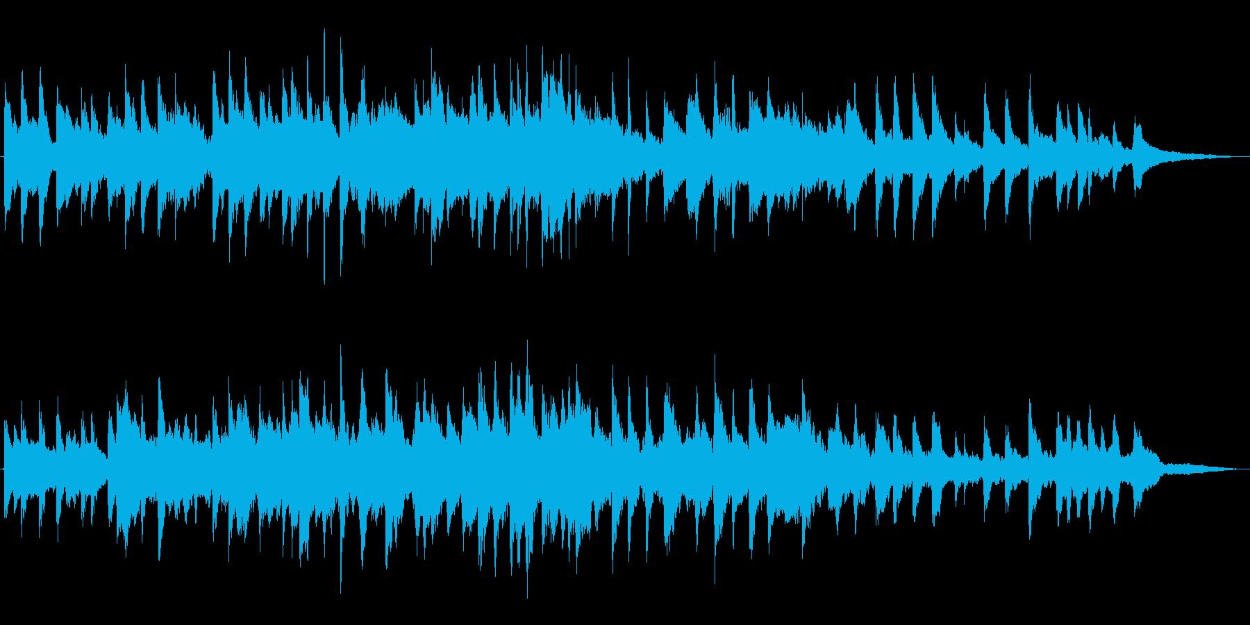 「ふるさと」-しっとり優しげなピアノ演奏の再生済みの波形
