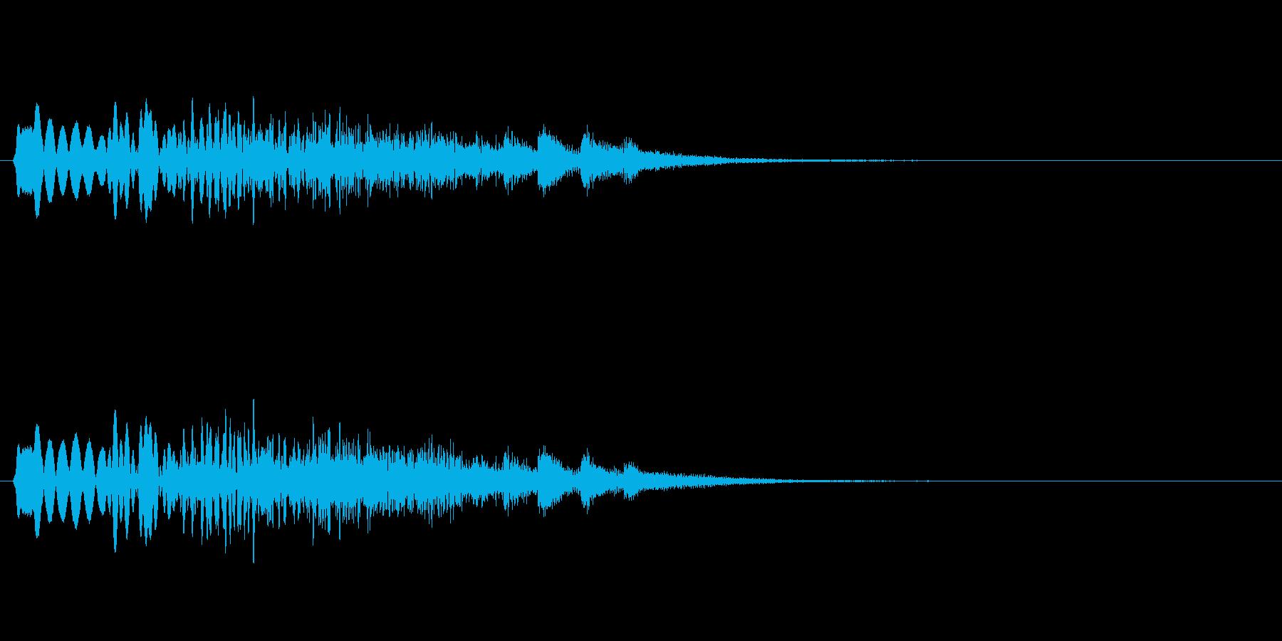 トゥルルルルルルルルル〜☆/綺麗なハープの再生済みの波形