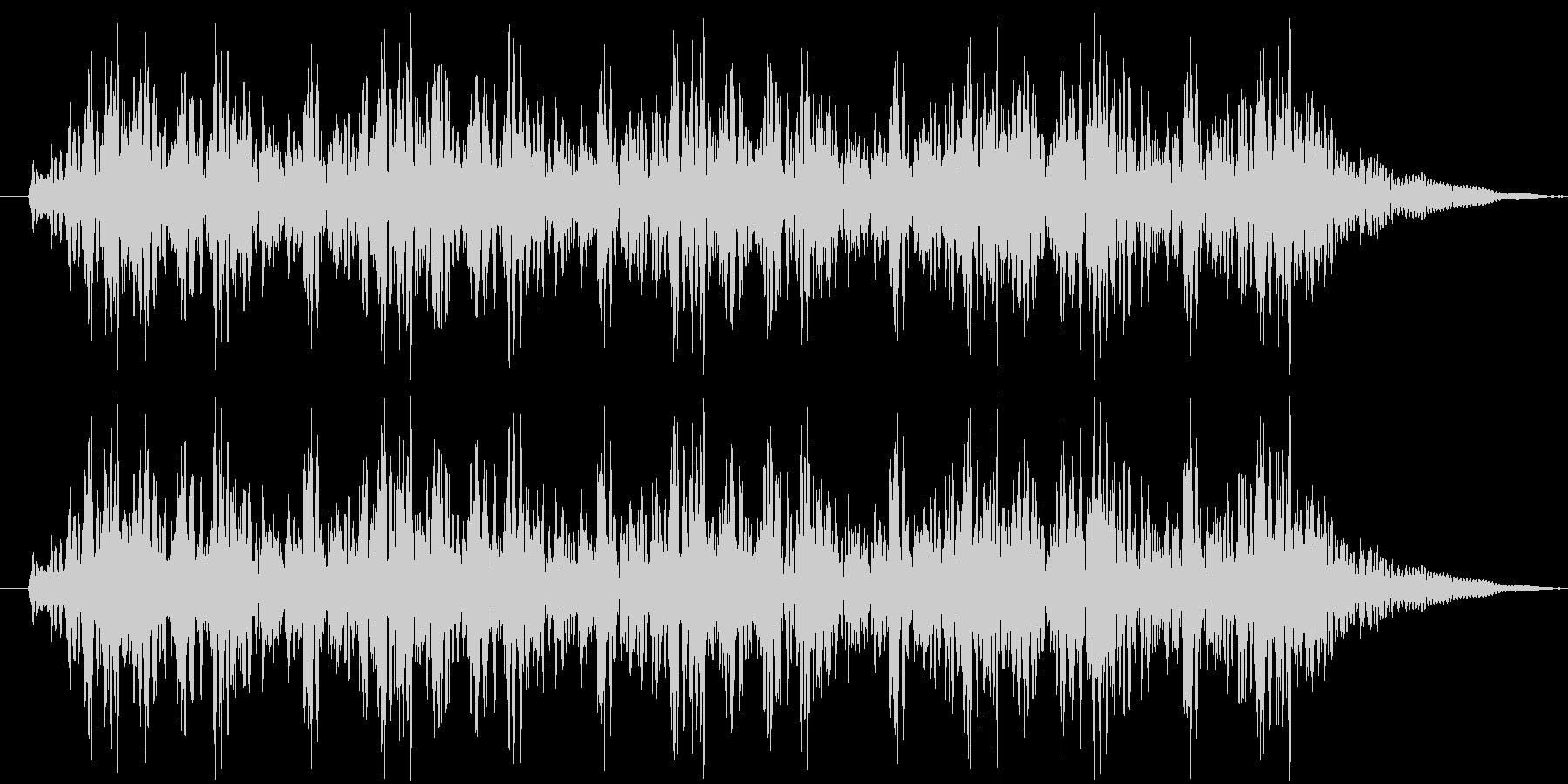 っとととドンドンドンドンの未再生の波形