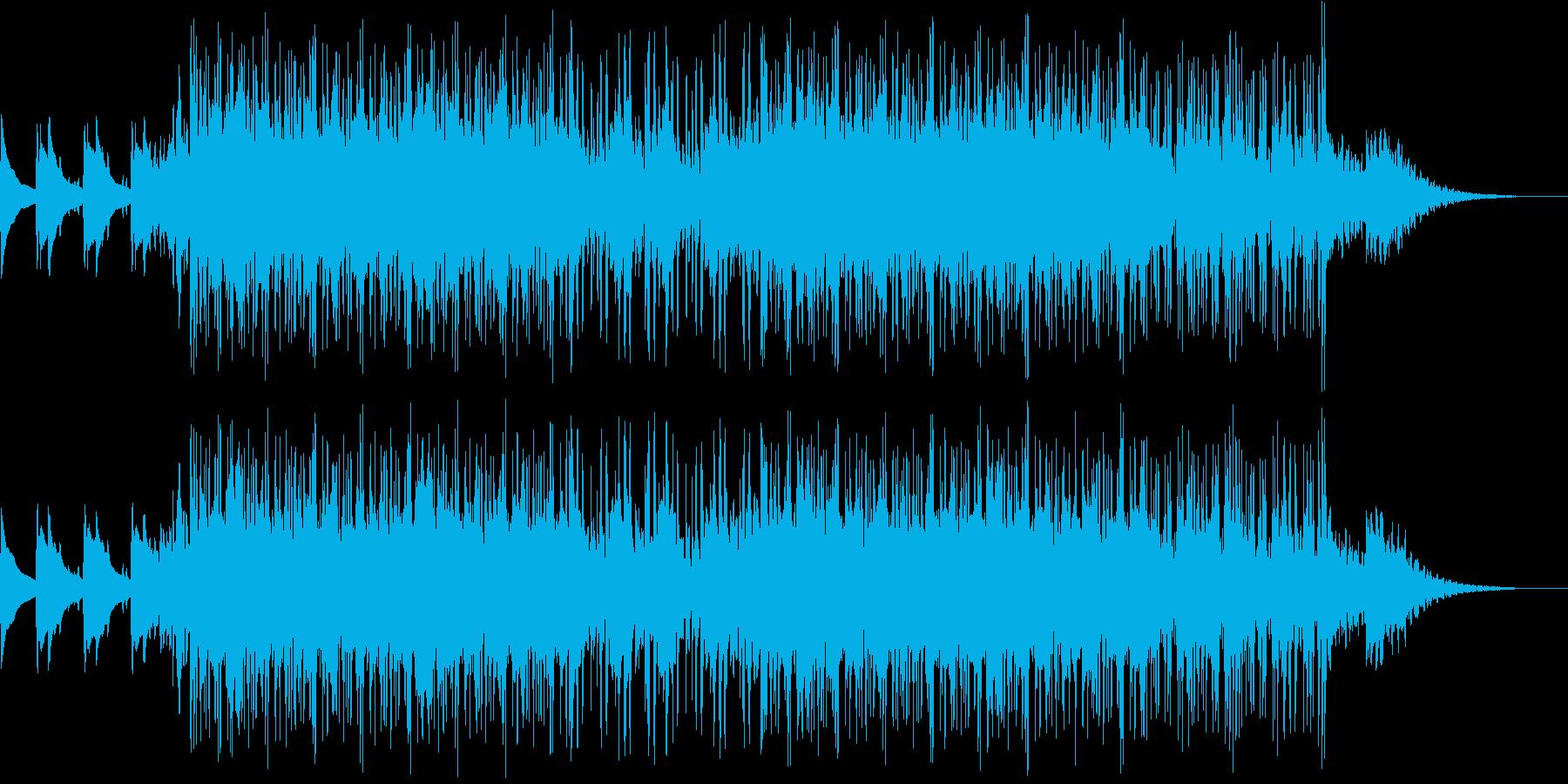 サスペンスのイメージのインストの再生済みの波形