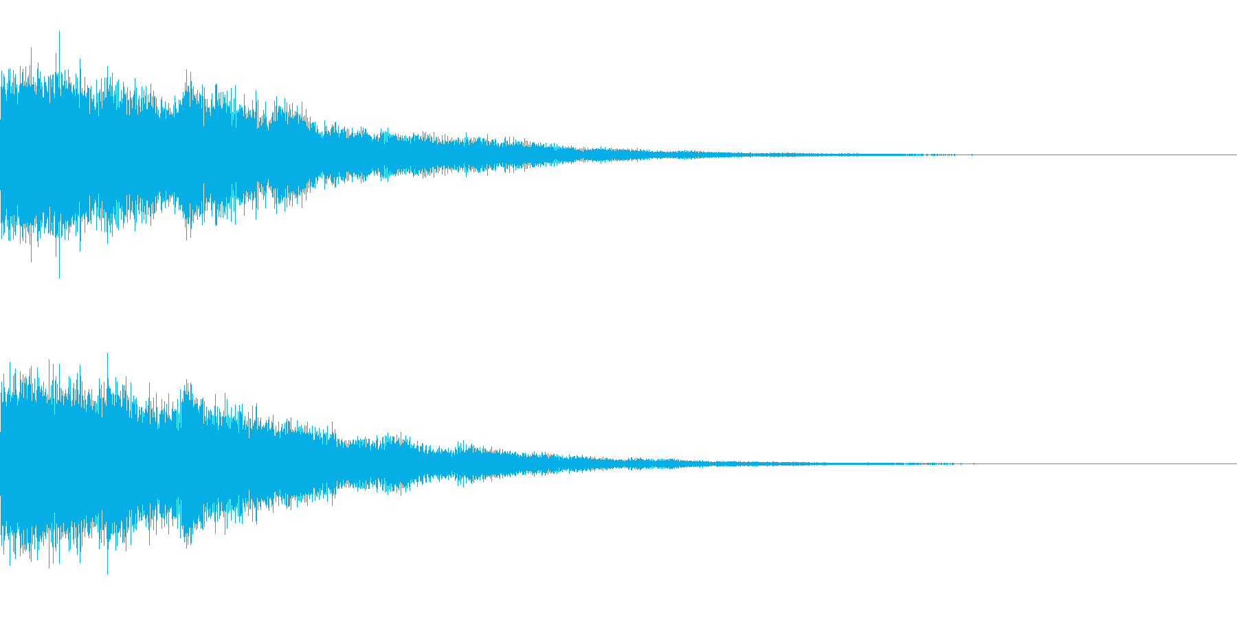 [チャララーン] 決定 (可愛く華やか)の再生済みの波形