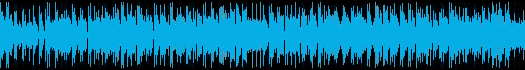 情熱的なラテン系のBGMです。の再生済みの波形