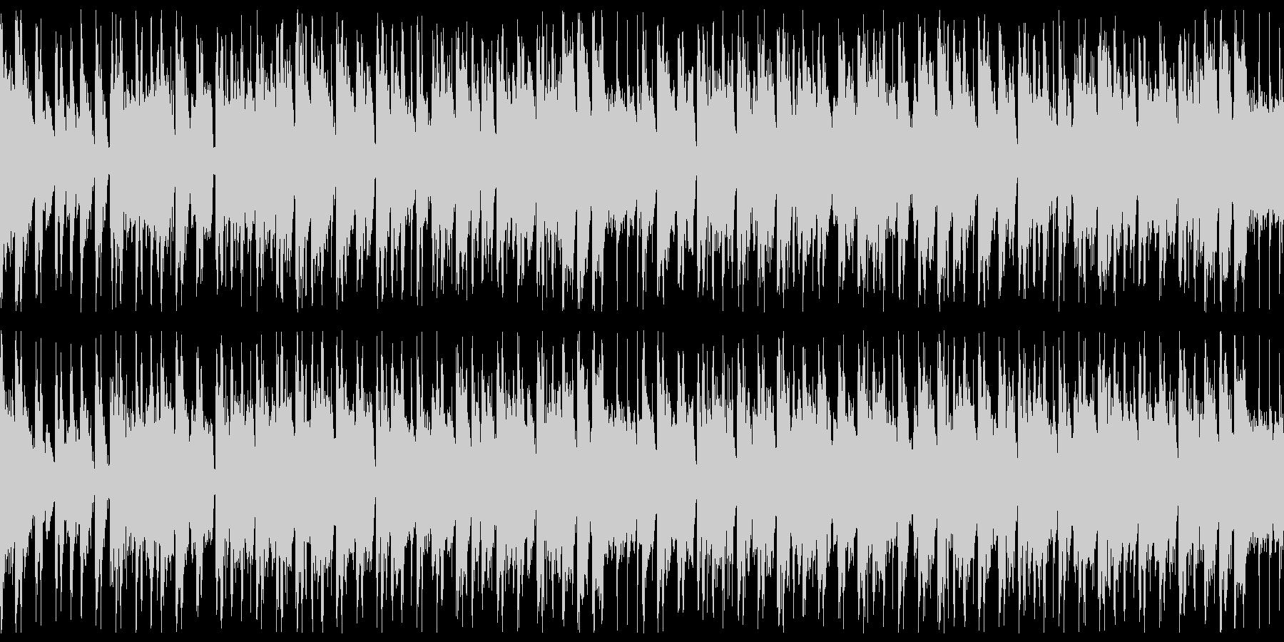 情熱的なラテン系のBGMです。の未再生の波形